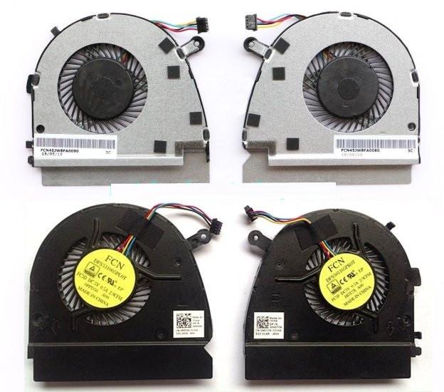 Вентилятор Dell Vostro V5460 V5470 V5480 Inspiron 14z-3526 левый+правый Original 4+4 pin