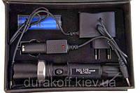 Тактический Фонарик POLICE 2000W с линзой BL-T8626 фонарь