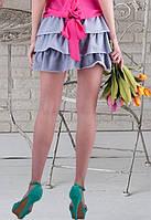 Короткая модная многоярусная юбка t-t6111201