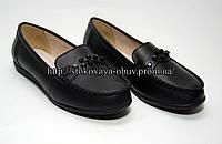 Туфли женские, мокасины (нат. кожа) (36-40) размер