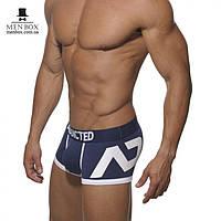 Трусы мужские боксерки Addictec темно-синего цвета