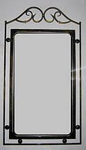 Зеркало в кованой раме №1