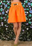 Яркая женская юбка-колокол в расцветках i-t6111204