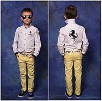 Цветные яркие джинсы для мальчика, 116 - 146 см. Весенние летние детские, подростковые брюки.