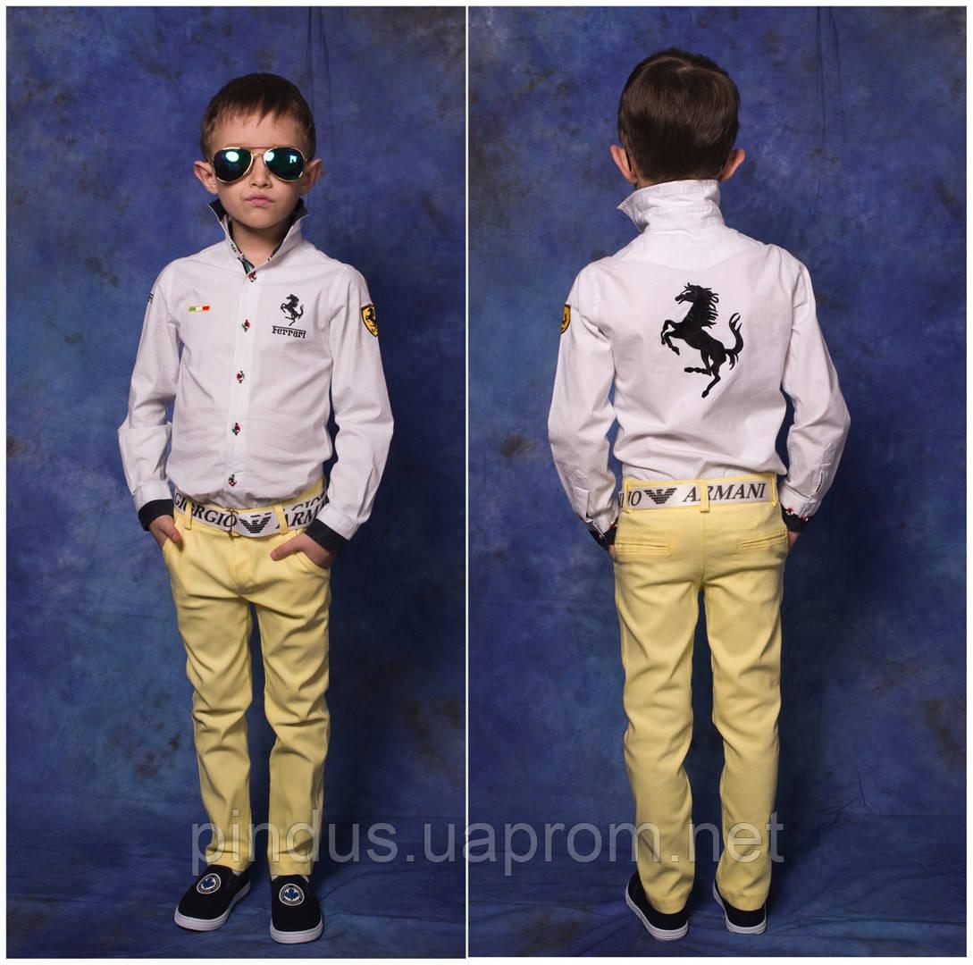 204cf68cbbe3 Цветные яркие джинсы для мальчика, 116 - 146 см. Весенние летние детские,  подростковые