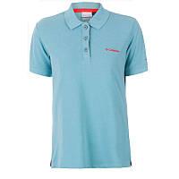 Женская блузка-поло CASCADE RANGE™ SOLID POLO бирюзовая AL1830 341