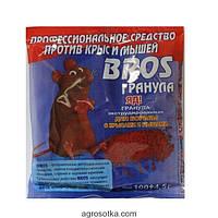 Bros препарат для уничтожения крыс , 100г