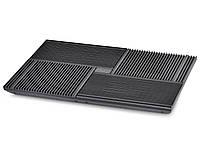 """Подставка для ноутбука до 17"""" DeepCool Multi Core X8, Black"""