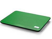 """Подставка для ноутбука до 14"""" DeepCool N17, Green"""