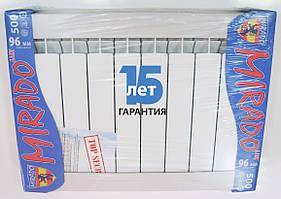 Алюминиевый радиатор Mirado 96/500 10 секций в сборе