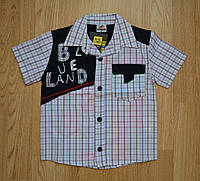 Рубашка для мальчика с коротким рукавом BLD (Турция)