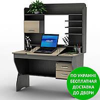 Компьютерный стол СУ-21 Сенс Разные размеры и раскраски. Можно покупать отдельные комплектующие.