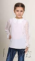 Нарядная блузка в школу для девочки
