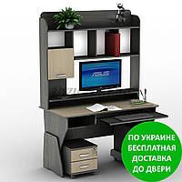 Компьютерный стол СУ-24 Олимп Разные размеры и раскраски. Можно покупать отдельные комплектующие.