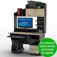 Компьютерный стол СУ-26 Оптима Разные размеры и раскраски. Можно покупать отдельные комплектующие.