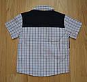 Рубашка для мальчика с коротким рукавом BLD р. 92, 98 см (Турция), фото 2