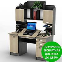 Компьютерный стол СУ-13 Разные размеры и раскраски. Можно покупать отдельные комплектующие.