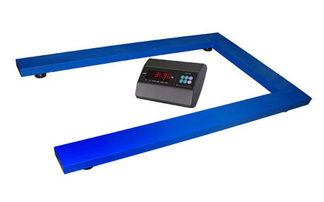 Весы паллетные TRIONYX П0812-ПЛ-300 Keli xk3118t1 до 300 кг, 800х1200 мм, фото 2
