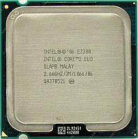 Процессор E7300 Intel Core 2 Duo  2,66 GHZ/3M/1066 + термопаста в ПОДАРОК