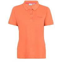Женская блузка-поло CASCADE RANGE™ SOLID POLO оранжевая AL1830 867