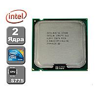 Процессор E7400 Intel Core 2 Duo  2,8 GHZ/3M/1066 + термопаста в ПОДАРОК