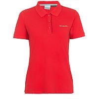 Женская блузка-поло CASCADE RANGE™ SOLID POLO красная AL1830 653