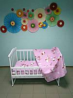 """Детское постельное белье 3 в 1 """"Hello Kitty"""""""