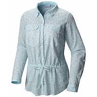 a673efb2a55c90 Женская рубашка Columbia CAMP HENRY™ II TUNIC бирюзовая AL1841 341 S