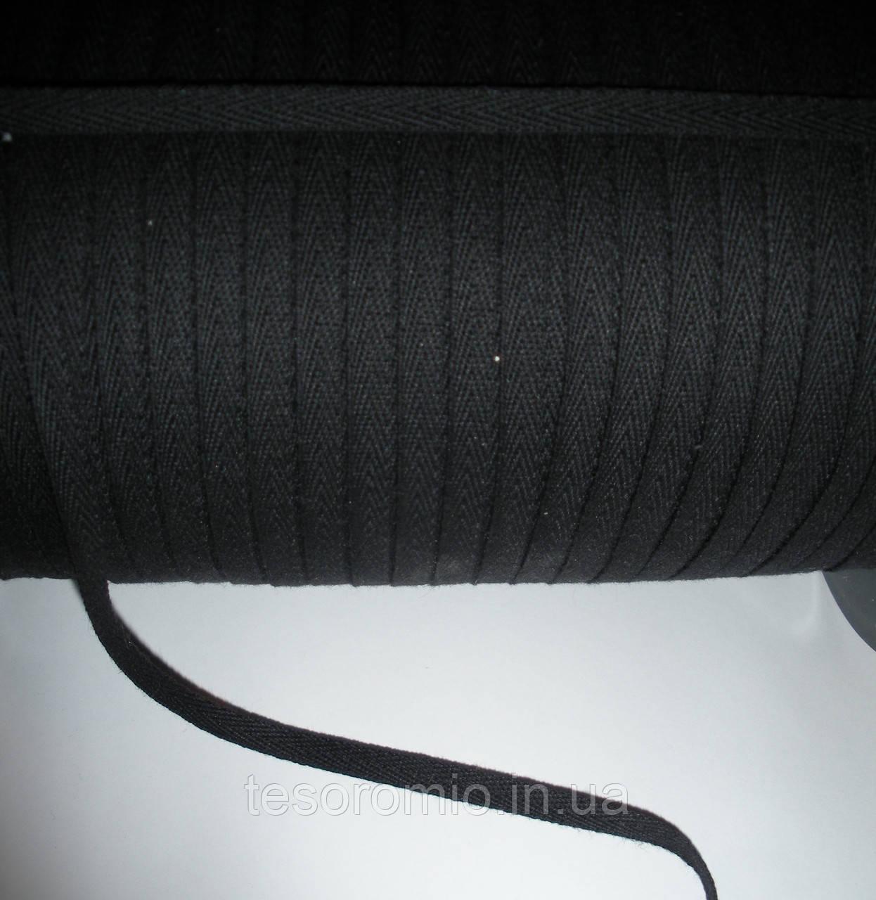 Киперная лента черная 6мм