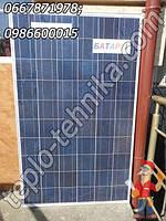 Солнечная батарея (панель) мощностью 250 Вт, солнечные коллекторы електрические солнечные панели
