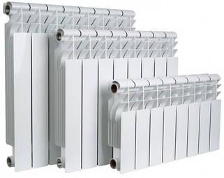 Радиаторы алюминиевые отопления