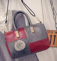 Женская сумка с ручками через плечо повседневная