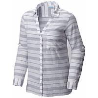 653f59d37dded3 Женская рубашка Columbia EARLYTIDE™ LONGSLEEVESHIRT серая AL1600 591