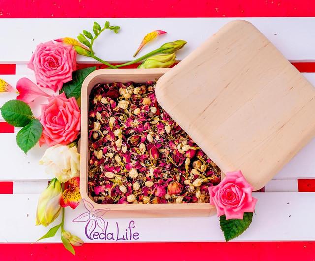 """Позвольте себе отдых вместе с восхитительным цветочным чаем """"Сила цветов""""/""""Flower Power""""!"""