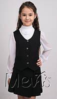 Школьная форма для девочки (юбка+жилетка)