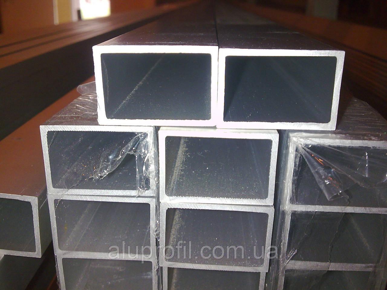 Алюминиевый профиль — труба прямоугольная 30х20х2