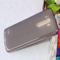 Cиликоновый чехол Matte LG G3/D855 черный