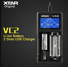 Зарядний пристрій XTAR VC2 для Li-Ion акумуляторів двоканальне