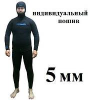 Пошив гидрокостюмов для подводной охоты KATRANGUN 5 мм