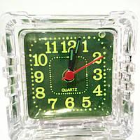 Часы будильник квадрат 65мм*65мм  1R6AA №926