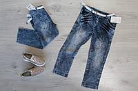 Детские джинсы для девочки со стразами Турция р. 2-5 лет