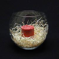 Круглая ваза 2,3 л,  h 140 мм, Ø 165 мм