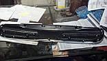 Решетка радиатора Ланос эмблема шевроле крест-хромированный (DW), фото 2