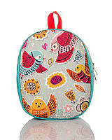 Рюкзак детский бирюзовый Птички TM XYZ, фото 1