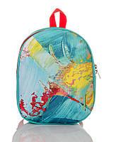Рюкзак детский бирюзовый Краски TM XYZ