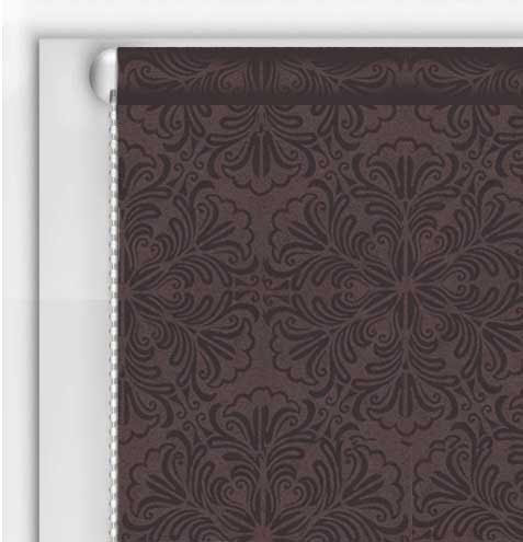 Рулонні штори DIY Металік Принт Шоколад