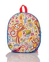 Рюкзак детский голубой Мартышки TM XYZ, фото 1