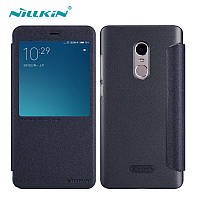 Чехол-книжка Nillkin Leather Case Sparkle для Xiaomi Redmi Note 4