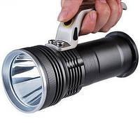 Мощный ручной тактический фонарь - прожектор с зумом Police BL-T801 8000Lm 158000W, Скидки