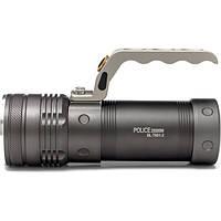 Мощный ручной тактический фонарь - прожектор с зумом Police BL-T801 8000Lm 158000W, Хит продаж